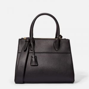 Mia Women Black Tote Bag