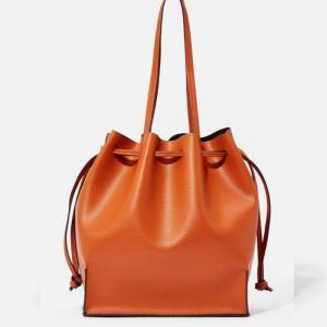 Women Brown Bucket Bag