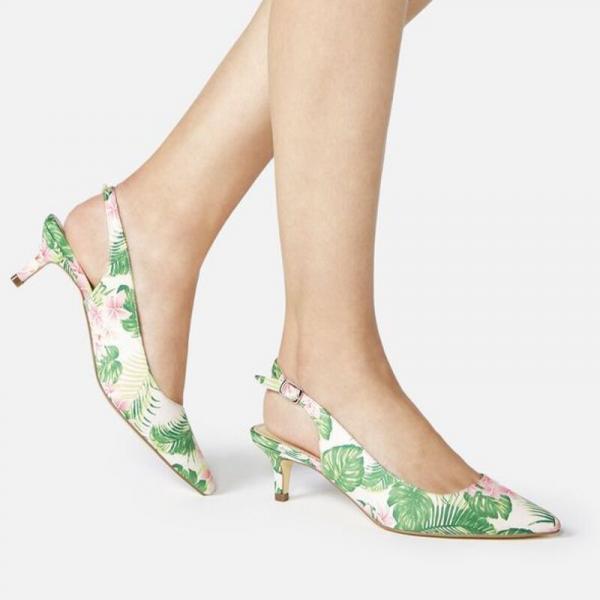 Women Low Heel Pumps