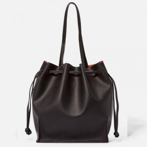 Women Black Bucket Bag