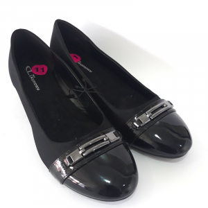 Bail Wedge Black Pumps - CL Laundry