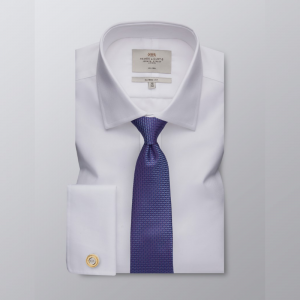 Hawes and Curtis Men's White Twill Shirt