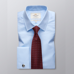 Hawes and Curtis Men's Blue Shirt