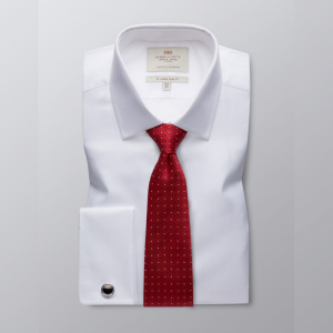 Hawes and Curtis Men's White Luxury Shirt