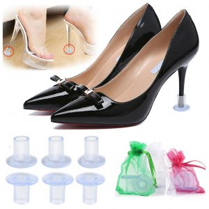3-Pairs Clear High Heel Protectors