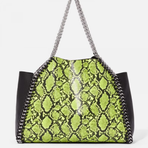 Chain Trim Large Tote Bag