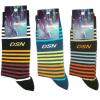 Mens Premium Cotton Stripe Socks