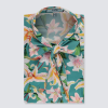 Hawes and Curtis Women Tropical Lilly Satin Blouse