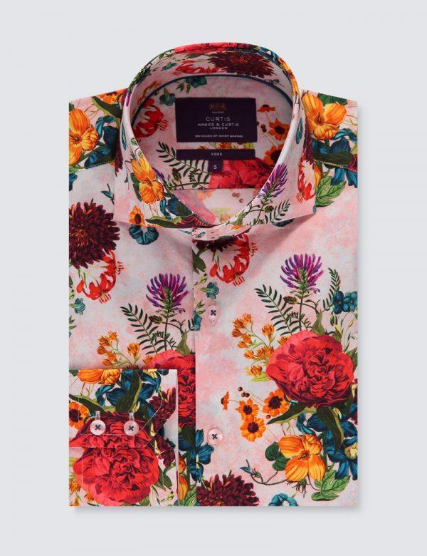 Hawes & Curtis Men Vintage Summer Shirt